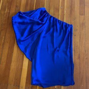 Bloomingdales Aqua Dress size 6